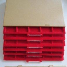 Material numismático: MONETARIO DE PVC. Lote 211506309