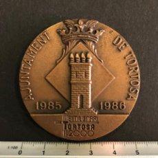 Material numismático: TORTOSA DERTOSA ILERCAVONIA 2000 ANYS D'HISTÒRIA. Lote 212752740