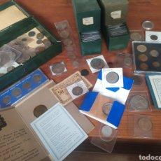 Material numismático: COLECCIÓN DE MONEDAS, LOTE DE MÁS DE 200 PIEZAS. Lote 213623091