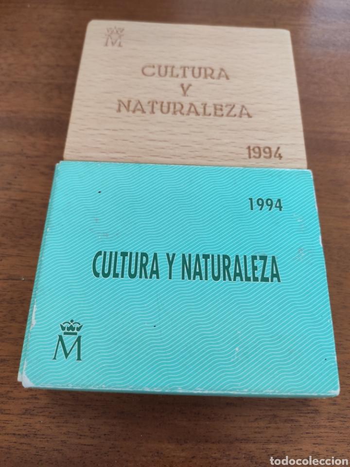 Material numismático: Estuche vacio 5.000 pesetas 1994 aguila imperial - Foto 2 - 214183513