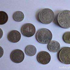 Material numismático: 18 MONEDAS EXTRANJERAS. Lote 218096195
