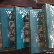 Materiale numismatico: MONEDAS Y BILLETES DE TODO EL MUNDO. PLANETA. 5 CARPETAS.VER FOTOS Y DESCRIPCIÓN (T/20). Lote 218099860