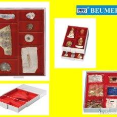 Material numismático: BANDEJA LINDNER, ALTURA 40MM., PARA OBJETOS GRANDES. 236X303X40MM. ALTURA LLENADO: 29MM.. Lote 218146671