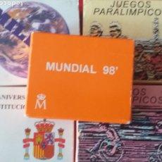 Material numismático: 5 ESTUCHES DE MONEDAS DE ESPAÑA ( SIN MONEDAS). Lote 218908365