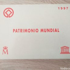 Material numismático: ESTUCHE MONEDAS PATRIMONIO MUNDIAL 1997(SIN MONEDAS). Lote 219079165
