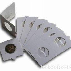 Material numismático: CARTONES GRAPAR 27.5MM.PAQ.100. Lote 266478838
