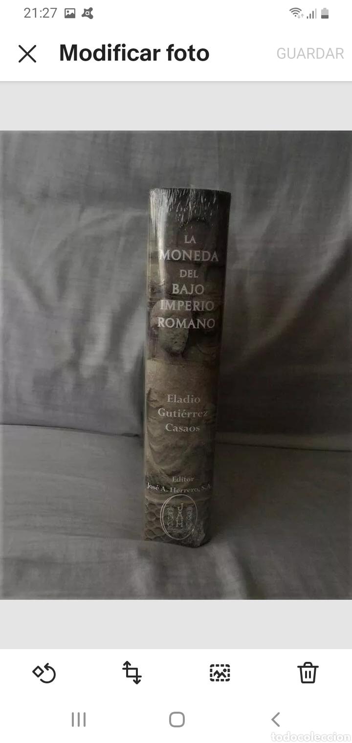 Material numismático: * centauro* LIBRO LA MONEDA DEL BAJO IMPERIO ROMANO CON PRECINTO ORIGINAL - Foto 2 - 219333380