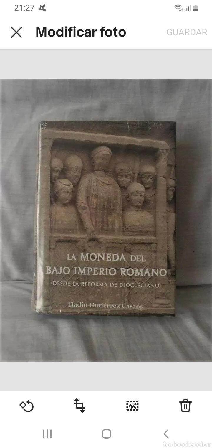 * CENTAURO* LIBRO LA MONEDA DEL BAJO IMPERIO ROMANO CON PRECINTO ORIGINAL (Numismática - Material Numismático)