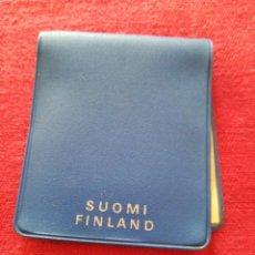 Material numismático: FUNDA PARA MONEDA 10 MARKK FINLANDIA 1970. Lote 219470231