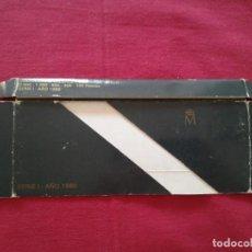 Material numismático: FUNDA PARA SET MONEDAS FNMT PLATA 1989. Lote 219475428