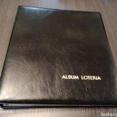 Material numismático: ANTIGUO ÁLBUM BILLETES/LOTERIA. Lote 219766143