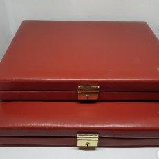 Material numismático: DOS ESTUCHES DE MONEDAS NUMIS ART AÑOS 70 / 80 VACIOS. Lote 221542108