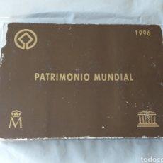 Material numismático: ESTUCHE DE MONEDAS PATRIMONIO DE LA HUMANIDAD 1996 (SIN MONEDAS). Lote 227480455