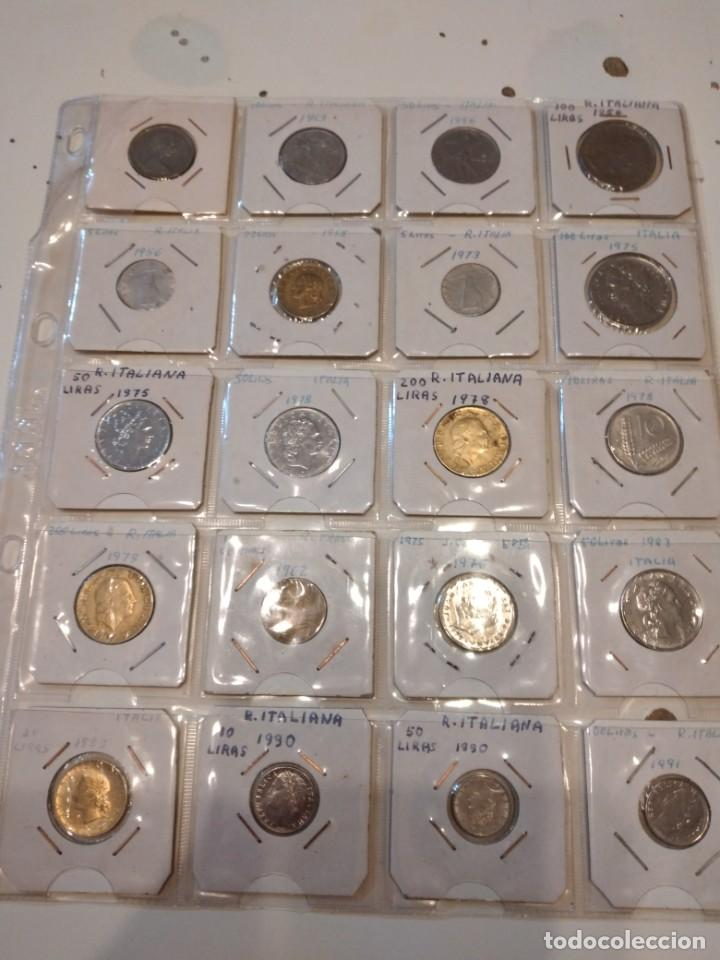 G-59 IMPRESIONANTE LOTE DE 153 MONEDAS DE TODO EL MUNDO VER FOTOS (Numismática - Material Numismático)
