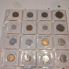 Material numismático: G-59 IMPRESIONANTE LOTE DE 153 MONEDAS DE TODO EL MUNDO VER FOTOS. Lote 230107595