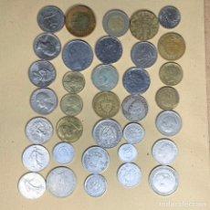 Material numismático: LOTE 35 MONEDAS VARIAS. Lote 231564015
