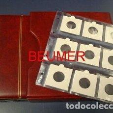 Material numismático: 1 ALBUM NUMIS, BEUMER; CON 20 HOJAS PARA 9 CARTONES .. Lote 295369708