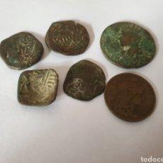 Material numismático: ANTIGUAS MONEDAS DE COBRE. Lote 233678440