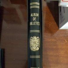Material numismático: ALBUM DE BILLETES. Lote 234465455