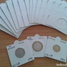 Material numismático: 2000 CARTONES GRAPAR + 100 HOJAS PARA 20 CARTONES CADA UNA.+ 2 ALBUMES 27X33. Lote 234510970