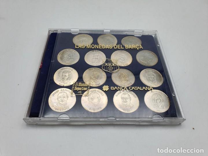 MONEDAS DEL BARÇA ( EL MUNDO DEPORTIVO ) (Numismática - Material Numismático)