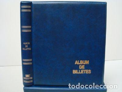 Material numismático: Album BILLETES luxe 27x33cm. 4 Anillas.Gama Colores. Luxe - Foto 2 - 234935030