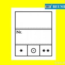 Material numismático: 1000 ETIQUETAS PARA REFERENCIA Y PRECIO. FORMATO: 23X27MM.. Lote 235710395