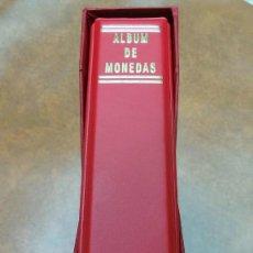 Material numismático: 3 ALBUMES PARA MONEDAS, NUMIS, CON FUNDA CAJETÍN.TAMAÑO 21X23CM.. Lote 235713570