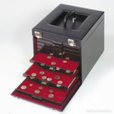 Material numismático: MALETÍN CARGO MB LUXE CON 10 BANDEJAS INCLUIDAS (PUEDES ELEGIR MODELO/S). Lote 235715895