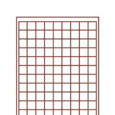 Material numismático: 100 PLANTILLAD FLOCADAD 99 DEPARTAMENTOS.225X285X9.GRANATE.BEUMER.. Lote 235718325