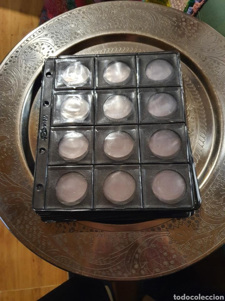 20 HOJAS ARCHIVO 12 MONEDAS MARCA PARDO (Numismática - Material Numismático)