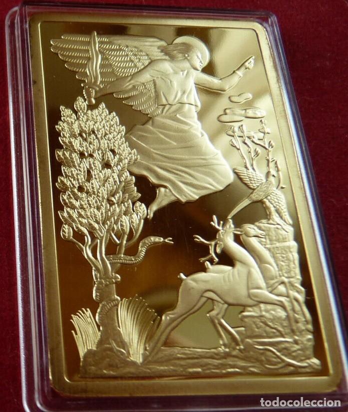 Material numismático: BONITO LINGOTE CON ORO DE LA PORTA SANTA SAN PIETRO DE ROMA DE LA CIUDAD VATICANA - Foto 2 - 235973870
