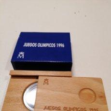 Material numismático: ESTUCHE VACÍO PARA MONEDAS JUEGOS OLÍMPICOS 1996. Lote 236161175
