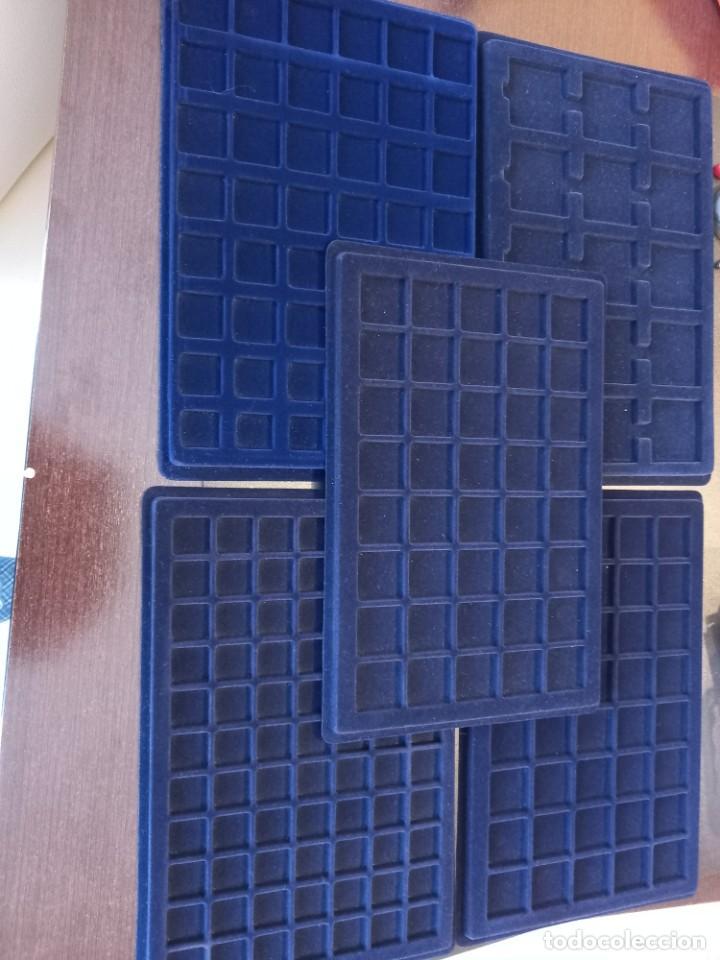 BANDEJAS PARA MONEDAS, MARCA LEUCHTURM (Numismática - Material Numismático)