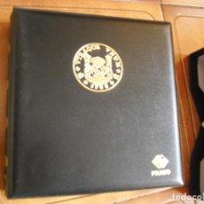 Material numismático: ALBUM PARA MONEDAS. Lote 244512995