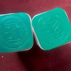 Material numismático: LOTE DE 2 TUBOS PARA ONZAS DE PLATA PURA. ESTADOS UNIDOS. Lote 244734775