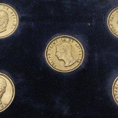 Material numismático: ESTUCHE MONEDAS DE LA FAMILIA REAL. LA INFANTA ELENA REPETIDA. EL REY JUAN CARLOS, FELIPE VI Y DOÑA. Lote 251214925