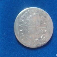 Material numismático: MONEDA DE FELIPE V DE 2 REALES. Lote 255352505