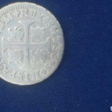 Material numismático: MONEDA DE 1/2 REAL DE 1733 DE FELIPE V. Lote 255356230