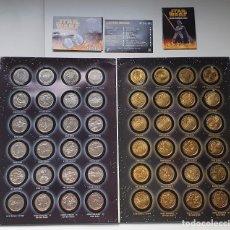 Material numismático: STAR WARS: COLECCION MONEDAS LA VENGANZA DE LOS SITH. Lote 256052505