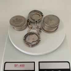 Material numismático: ESPECTACULAR LOTE MONEDAS DE PLATA VARIAS. Lote 257979145