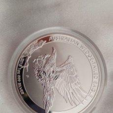 Material numismático: ONZA ÁGUILA 1 DOLLAR. Lote 260713475