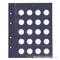Material numismático: HOJAS VISTA PARA MONEDAS DE 2 EUROS. Lote 295369468