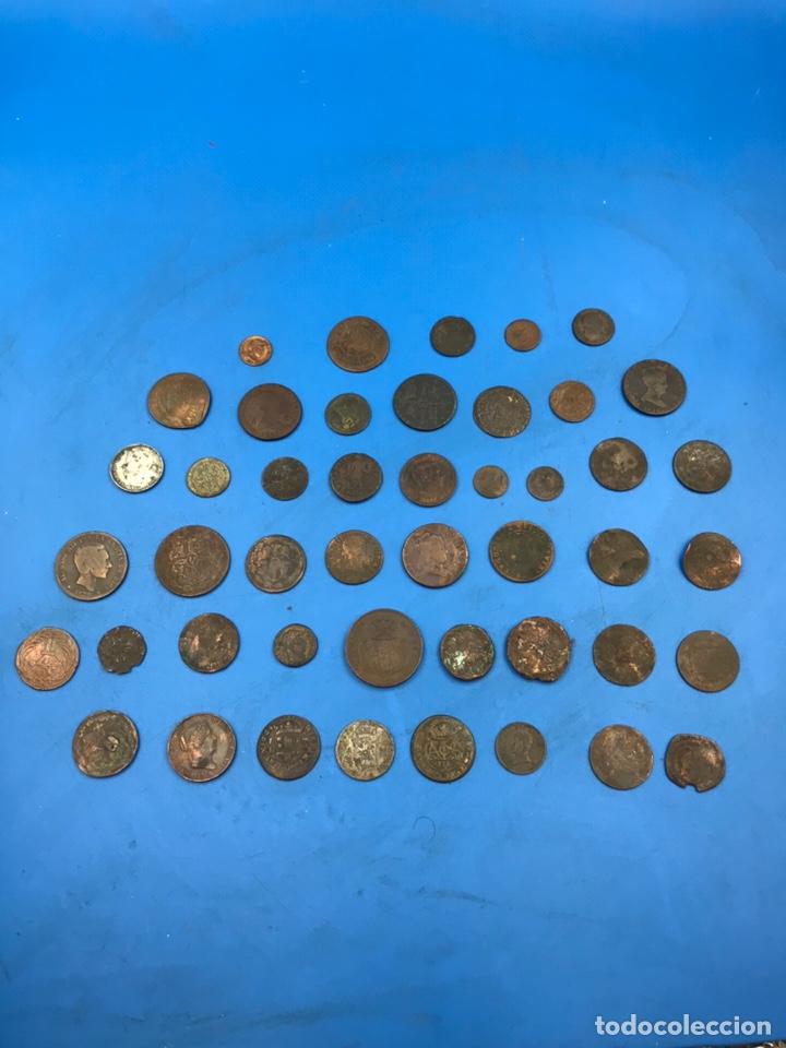 LOTE DE MONEDAS ANTIGUAS VARIAS ÉPOCAS Y PAÍSES (Numismática - Material Numismático)