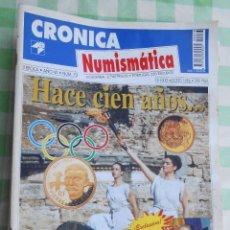 Material numismático: 12 REVISTAS DE CRONICA NUMISMATICA DE COLECCIONISMO DE MONEDAS. PLATA BRONCE. Lote 261195870
