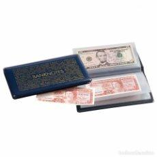 Material numismático: ÁLBUM DE BOLSILLO ROUTE BANKNOTES 170 (3 UNIDADES POR 24€). Lote 262358130
