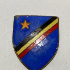 Material numismático: ZAIRE BÉLGICA BELGIQUE CONGO KONGO KATANGA BÉLGICA PLACA DE POLICÍA ANTES DE 1960. Lote 262723850