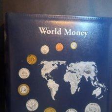 Material numismático: ALBUM PARA BILLETES O MONEDAS. Lote 264023095