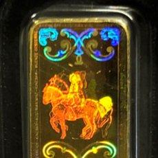 Material numismático: LINGOTE DE ORO PURO 24 QUILATES - AUSTRIACO - KINEBAR- 1 GRAMO. Lote 264045925