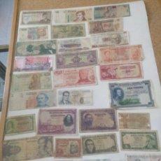 Material numismático: LOTE DE 30 BILLETES. Lote 265466539